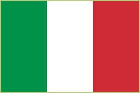 Un voyage en italie - Drapeau Italien