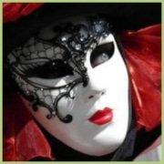 Masque du carnaval de venize