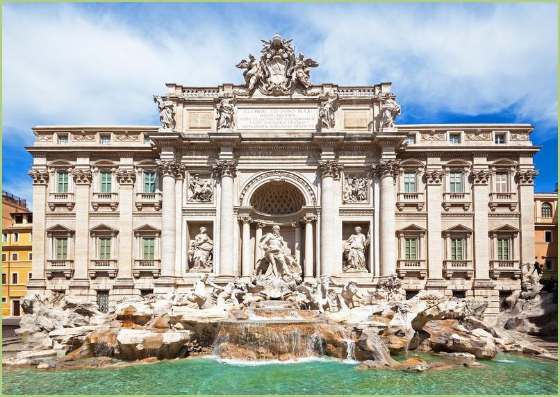 Fontaine de Trévise à Rome