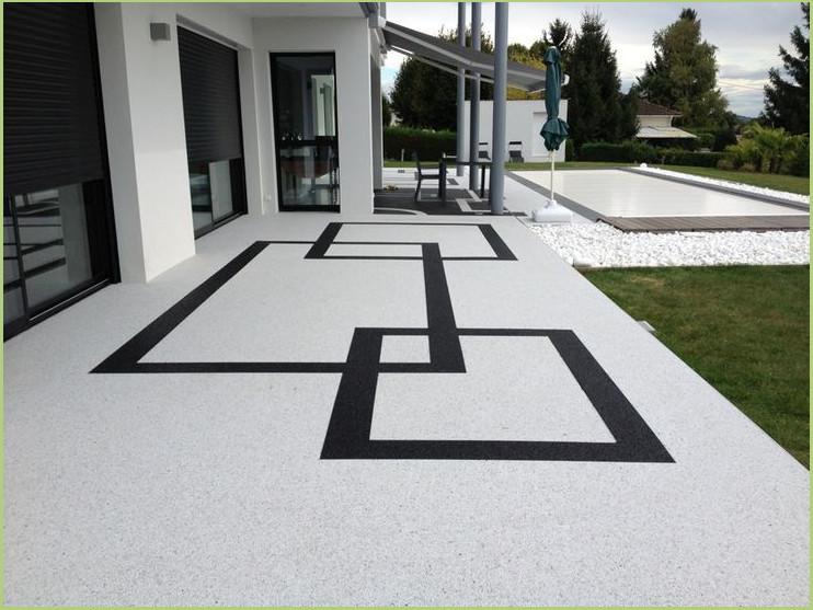 Résine de protection RESIPROTEC - Revetement terrasse piscine (Luberon)
