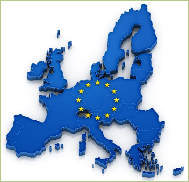 Nos partenaires - Carte de l'Europe