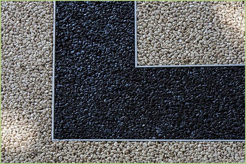 Profilés aluminium pour granulats de marbre