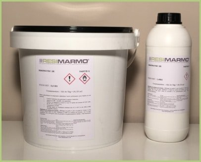 La résine sol extérieur - Résine de polyuréthane 5 kg