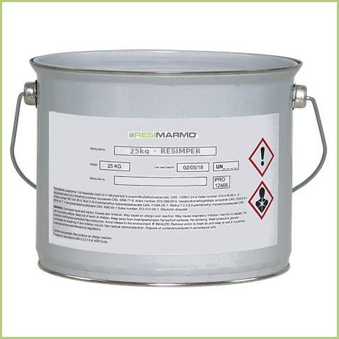 La résine sol extérieur - Pot de résine resimper (25kg)