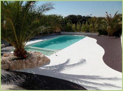 Votre petit Paradis en marbre blanc