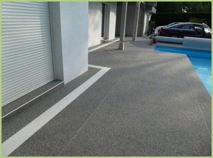 Terrasse grise et blanche région de Brindisi