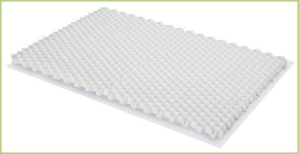 Le stabilisateur de granulats de marbre - Deux plaques STABIMARMO assemblées