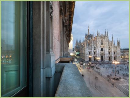 La cathédrale gothique de Milan en marbre de Candoglia
