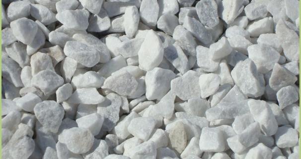 Granulat de marbre concassé