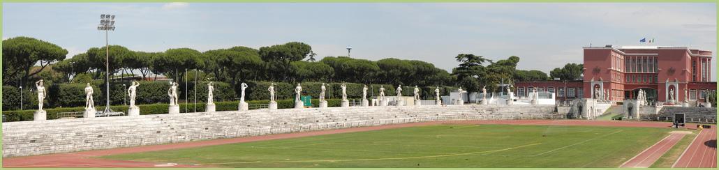 Le Foro Italico (à Rome)
