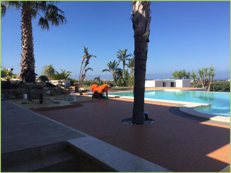 Plages de piscine en Sicile