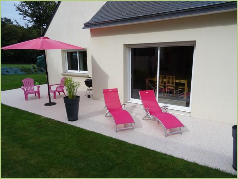 Terrasse rosa corallo