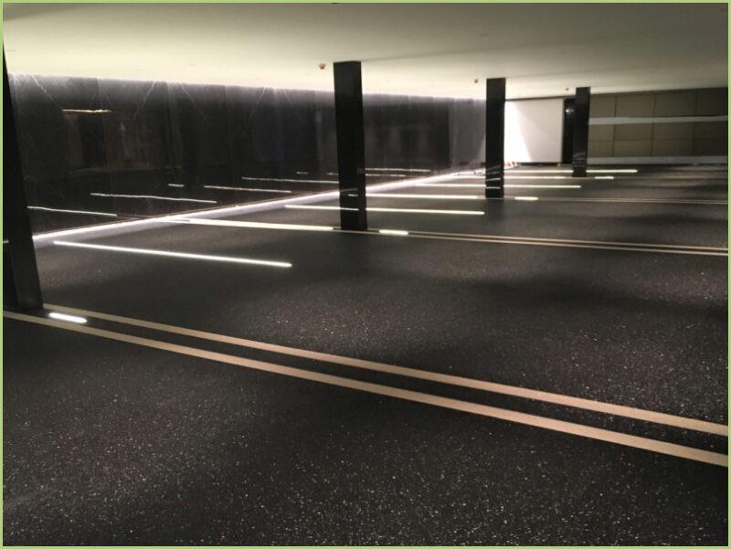 Parking sous terrain nero ebano
