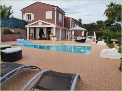 Terrasse plage de piscine brescia pernice