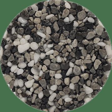 Couleur du granulat de marbre BARDIGLIO LIGHT MIX