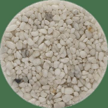 Couleur du granulat de marbre BIANCO CARRARA