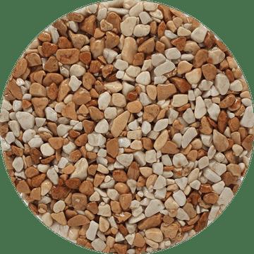 Couleur du granulat de marbre BRESCIA PERNICE