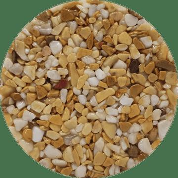 Couleur du granulat de marbre GIALLO SIENA