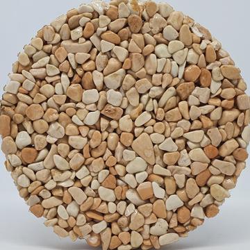 Couleur du granulat de marbre ROSA CORALLO
